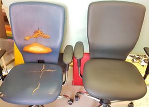 Tapeciranje stolov, klopi in sedežnih garnitur